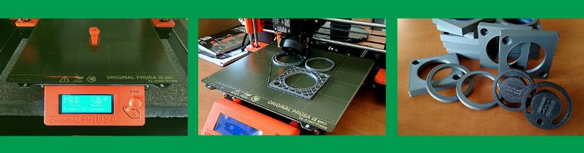 3D tiskárna v DAS vyrábí díly s logem firmy